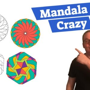 Mandala Crazy Review | How To Create Color By Numbers Coloring Books For Amazon KDP